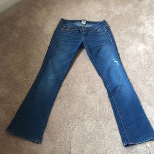 True Religion jeans size 25 gently used